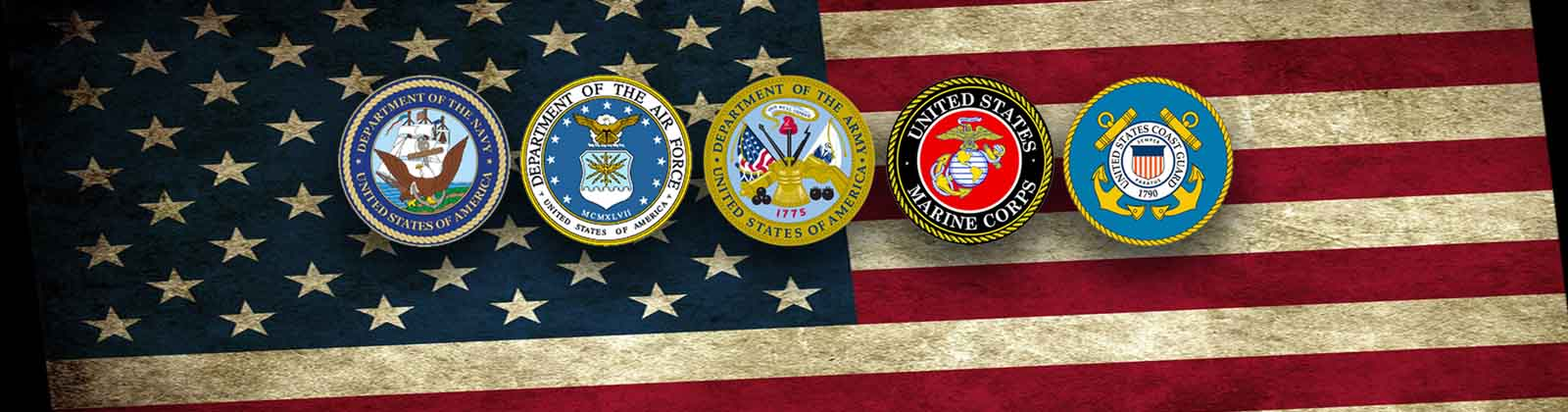 Logos for US Military Branches